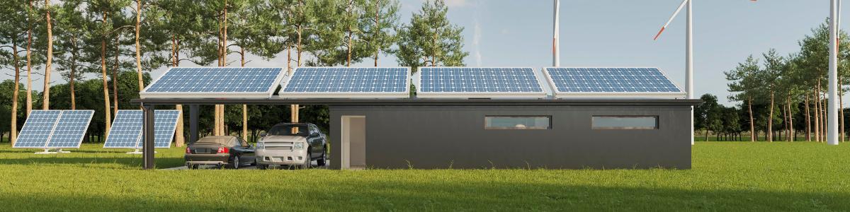 imagem painéis fotovoltaicos